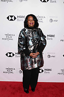 "NEW YORK CITY - APRIL 22: Angela Bragança Minister of tourism Angola attends National Geographic's ""Into The Okavango"" Screening at Tribeca Film Festival at Tribeca Festival Hub on April 22, 2018 in New York City. (Photo by Anthony Behar/National Geographic/PictureGroup)"