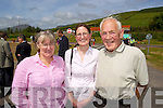 Pictured at the opening of the Annascaul Road on Friday last were l-r: Lucy Curtis (Road Design Office Castleisland) Elizabeth Kennedy and John Kennedy (Tralee).