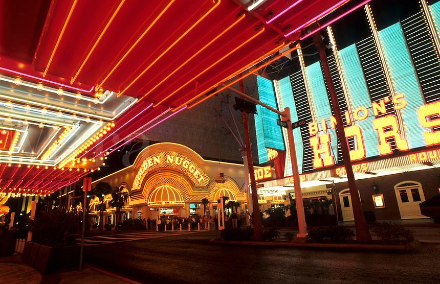 Las Vegas, Nevada at night, USA