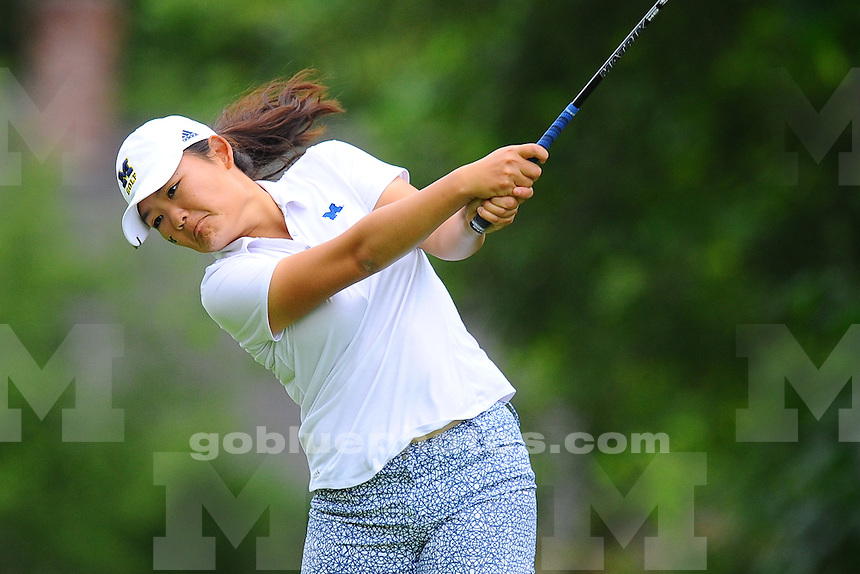 Teams participate in day two of stroke play at the 2016 NCAA Women's Golf National Championship at the Eugene Country Club on Saturday, May 21, 2016 in Eugene, Oregon.