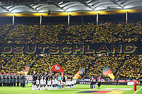 F-Junioren der SKG Erfelden als Einlaufkinder dabei - 19.11.2019: Deutschland vs. Nordirland, Commerzbank Arena Frankfurt, EM-Qualifikation DISCLAIMER: DFB regulations prohibit any use of photographs as image sequences and/or quasi-video.