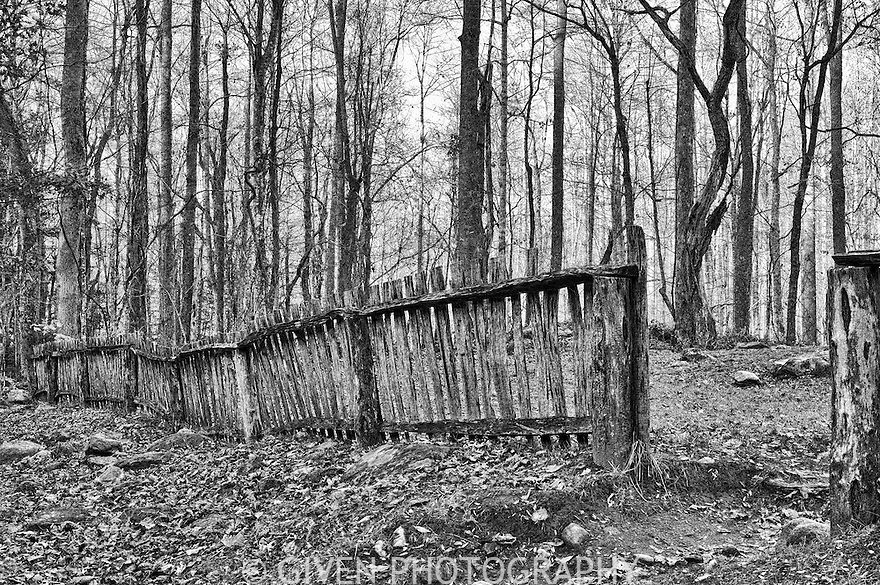 Fence, Smoky Mountains National Park, Tennesse