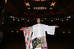 Matt Wall during the Actors' Equity opening night Gypsy Robe Ceremony honoring  MaryAnn Hu for ''Sunday in the Park with George' at the Hudson Theatre on February 23, 2017 in New York City.