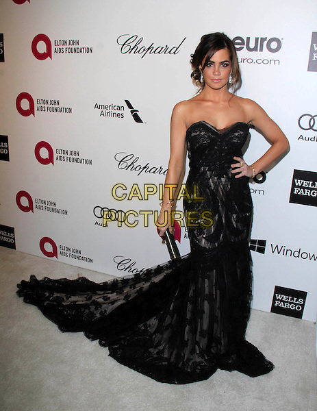 WEST HOLLYWOOD, CA - March 02: Jillian Murray at the 22nd Annual Elton John AIDS Foundation Oscar Viewing Party Arrivals, Private Location, West Hollywood,  March 02, 2014. <br /> CAP/MPI/JO<br /> &copy;JO/MPI/Capital Pictures