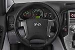 Car pictures of steering wheel view of a 2015 Hyundai H-1 People Executive 5 Door Passenger Van Steering Wheel