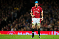 Justin Tipuric of Wales during the Guinness Six Nations Championship Round 3 match between Wales and France at the Principality Stadium in Cardiff, Wales, UK. Saturday 22 February 2020