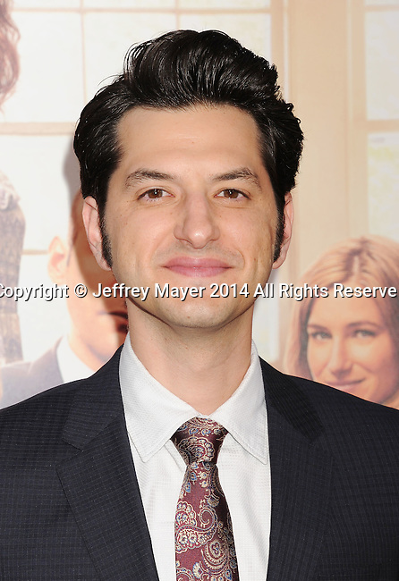 HOLLYWOOD, CA- SEPTEMBER 15: Actor Ben Schwartz arrives at the 'This Is Where I Leave You' - Los Angeles Premiere at TCL Chinese Theatre on September 15, 2014 in Hollywood, California.