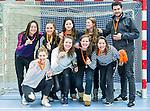 SCHIEDAM - NK reserveteams zaalhockey. Finale Tilburg D2-HDM D2 (1-3) .  HIC D2 met brons.    COPYRIGHT KOEN SUYK