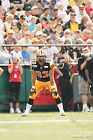 September 7, 2009; Hamilton, ON, CAN; Hamilton Tiger-Cats running back Andre Sadeghian (33). CFL football - the Labour Day Classic - Toronto Argonauts vs. Hamilton Tiger-Cats at Ivor Wynne Stadium. The Tiger-Cats defeated the Argos 34-15. Mandatory Credit: Ron Scheffler.