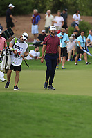 Erik Van Rooyen (RSA) on the 13th during the 1st round of the DP World Tour Championship, Jumeirah Golf Estates, Dubai, United Arab Emirates. 21/11/2019<br /> Picture: Golffile | Fran Caffrey<br /> <br /> <br /> All photo usage must carry mandatory copyright credit (© Golffile | Fran Caffrey)