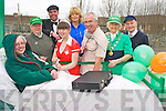 Pictured at the Rathmore St Patricks Days parade on Sunday were Caroline O'Donoghue, Noreen and Adrian O'Sullivan, Jennifer Templeman, Sheila O'Connell, Edward O'Sullivan, Grace and Jack McCrae, South Kerry Parkinsons.....................