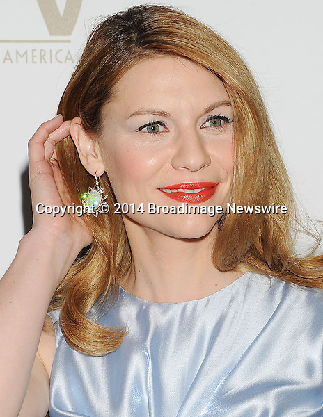 Pictured: Claire Danes<br /> Mandatory Credit &copy; Joseph Gotfriedy/Broadimage<br /> 25th Annual Producers Guild Awards<br /> <br /> 1/19/14, Beverly Hills, California, United States of America<br /> <br /> Broadimage Newswire<br /> Los Angeles 1+  (310) 301-1027<br /> New York      1+  (646) 827-9134<br /> sales@broadimage.com<br /> http://www.broadimage.com