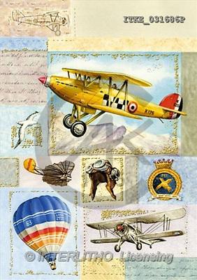 Isabella, MASCULIN, paintings, planes, balloon(ITKE031686,#M#)