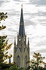 Aug. 27, 2014; Basilica of the Sacred Heart steeple.<br /> <br /> Photo by Matt Cashore/University of Notre Dame