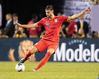 CHICAGO, IL - JULY 7: Matt Miazga #19 during a game between Mexico and USMNT at Soldiers Field on July 7, 2019 in Chicago, Illinois.