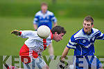An Ghaeltacht's no.6 and Annascaul's no.14..   Copyright Kerry's Eye 2008