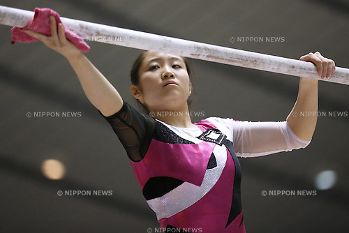 Koko Tsurumi, APRIL 25, 2015 - Artistic Gymnastics : The 69th All Japan Gymnastics Championship Wmen's Individual All-Around Balance Beam at 1st Yoyogi Gymnasium, Tokyo, Japan. (Photo by Sho Tamura/AFLO SPORT) [1180]