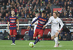 02.04.2016 Barcelona. La Liga day 31. Game between FC Barcelona agaisnt Real Madrid at Camp Nou. Picture show Neymar