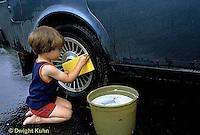 FA23-006z  Child washing car