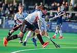 AMSTELVEEN - Wiegert Schut (Adam) tijdens de competitie hoofdklasse hockeywedstrijd heren, Pinoke-Amsterdam (1-1)   COPYRIGHT KOEN SUYK