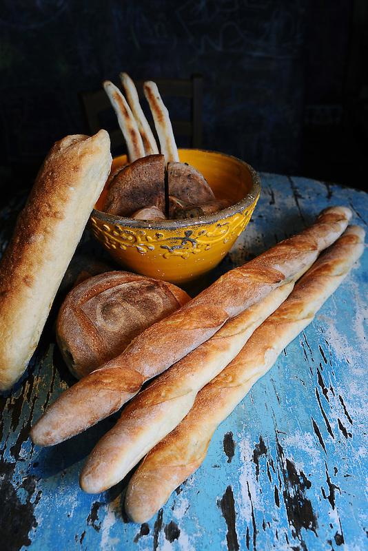 Bread at La Bicyclette in Carmel, Calif.