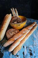 Bread at La Bicyclette in Carmel, California.