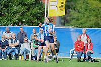 KAATSEN: GROU: KV 'It Wetterlân', KNKB, 14-07-2012, Nederlands Kampioenschap Dames Hoofdklasse Afdeling, Ilse Tuinenga (pas 14 jaar) van het winnende partuur Berltsum, ©foto Martin de Jong