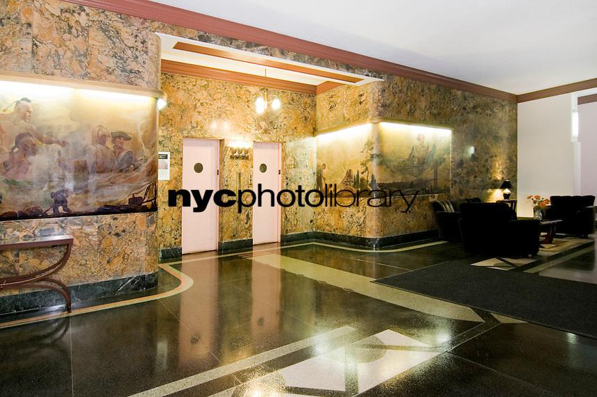 Lobby at 120 Bennett Avenue