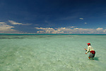 Saltwater fly fishing on Alphonse Island, Seychelles