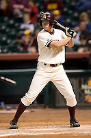 Arizona State's Matt Spencer (57) stands in to hit versus Texas A&M at the 2007 Houston College Classic at Minute Maid Park in Houston, TX, Friday, February 9, 2007.  Arizona State defeated Texas A&M 5-4.