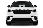Car photography straight front view of a 2018 Land Rover Range Rover Velar R-Dynamic SE 5 Door SUV