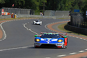 June 14 and 15th 2017,  Le Mans, France; Le man 24 hour race qualification sessions at the Circuit de la Sarthe, Le Mans, France;  #66 FORD CHIP GANASSI TEAM UK (USA) FORD GT LMGTE PRO STEFAN MUCKE (DEU) OLIVIER PLA (FRA) BILLY JOHNSON (USA)