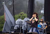 SAN FRANCISCO, CALIFORNIA - AUGUST 09: Counting Crows - Adam Duritz performs during the 2019 Outside Lands music festival at Golden Gate Park on August 09, 2019 in San Francisco, California.    <br /> CAP/MPI/ISAB<br /> ©ISAB/MPI/Capital Pictures