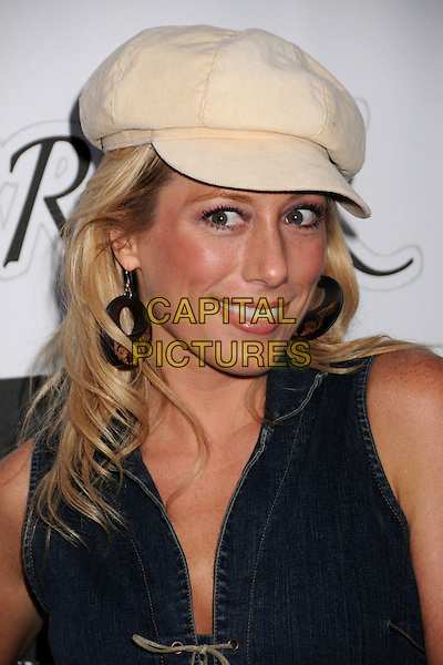 "MELISSA ""MOJO"" HUNTER.""Break"" Los Angeles Premiere at the Majestic Crest Theatre, Westwood, California, USA..June 10th, 2008.headshot portrait black hoop earrings beige hat .CAP/ADM/BP.©Byron Purvis/AdMedia/Capital Pictures."