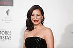 Aitana Sanchez Gijon attends the `Union de actores Awards´ ceremony in Madrid, Spain. March 14, 2016. (ALTERPHOTOS/Victor Blanco)