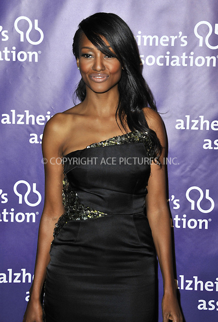 WWW.ACEPIXS.COM....March 20 2013, LA......Nichole Galicia arriving at the 21st Annual 'A Night At Sardi's' to benefit the Alzheimer's Association at The Beverly Hilton Hotel on March 20, 2013 in Beverly Hills, California.....By Line: Peter West/ACE Pictures......ACE Pictures, Inc...tel: 646 769 0430..Email: info@acepixs.com..www.acepixs.com