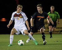 The Winthrop University Eagles lose 2-1 in a Big South contest against the Campbell University Camels.  Max Hasenstab (18), Scooter Oliver (7)