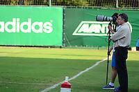 SÃO PAULO. SP 13.05.2014. PALMEIRAS / TREINO - Paulo Nobre Presidente do Palmeiras durante o treino na Academia de Futebol região oeste nesta terça-feira 13.  ( Foto : Bruno Ulivieri / Brazil Photo Press )