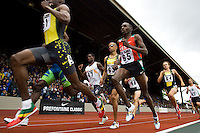 EUGENE, OR--Alfred Yego, 65, compete in the men's 800m at the Steve Prefontaine Classic, Hayward Field, Eugene, OR. SUNDAY, JUNE 10, 2007. PHOTO © 2007 DON FERIA