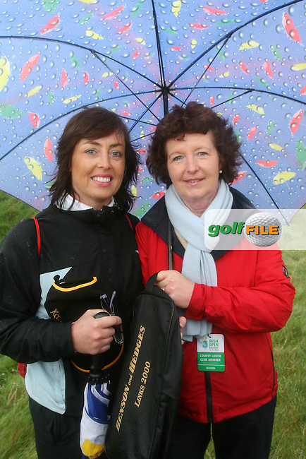 Sharon Kane and Olivia McGuirk at the 3 Irish Open Golf in Baltray...Photo NEWSFILE/Jenny Matthews.(Photo credit should read Jenny Matthews/NEWSFILE)....This Picture has been sent you under the condtions enclosed by:.Newsfile Ltd..The Studio,.Millmount Abbey,.Drogheda,.Co Meath..Ireland..Tel: +353(0)41-9871240.Fax: +353(0)41-9871260.GSM: +353(0)86-2500958.email: pictures@newsfile.ie.www.newsfile.ie.FTP: 193.120.102.198.