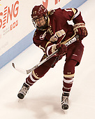 Delaney Belinskas (BC - 17) - The Boston College Eagles defeated the Boston University Terriers 3-2 in the first round of the Beanpot on Monday, January 31, 2017, at Matthews Arena in Boston, Massachusetts.