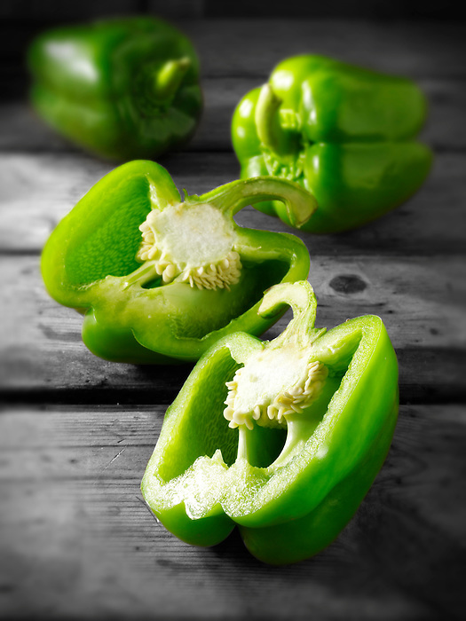 Green bell peppers photos, pictures & images