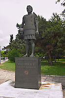 Statue of king Philippos of Macedonia. Thessaloniki, Macedonia, Greece