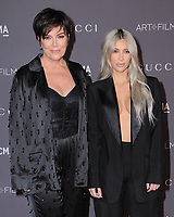 04 November  2017 - Los Angeles, California - Kris Jenner, Kim Kardashian. 2017 LACMA Art+Film Gala held at LACMA in Los Angeles. <br /> CAP/ADM/BT<br /> &copy;BT/ADM/Capital Pictures