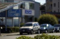 West Seattle, Washington USA   1 August, 2002.Spud Fish and Chips, a Alki Beach tradition...F.Peirce Williams .photography.P.O.Box 455  Eaton,OH 45320 USA.p: 317.358.7326  e: fpwp@mac.com