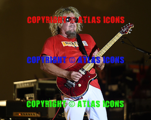 WEST PALM BEACH - APRIL 30: Sammy Hagar of Sammy Hagar and The Circle performs during Day 2 of Sunfest on April 30, 2015 in West Palm Beach, Florida.(Photo By Larry Marano (C) 2015