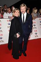 Christopher Dean<br /> arriving for the National TV Awards 2020 at the O2 Arena, London.<br /> <br /> ©Ash Knotek  D3550 28/01/2020