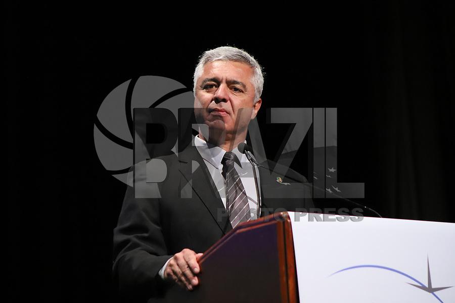 SÃO PAULO, SP, 05.11.2019 - POLITICA-SP - Major Olímpio, Senador PSL/SP, participa do Fórum Brasileiro de Transporte Aéreo, no WTC Events, em São Paulo, nesta terça-feira, 5. (Foto Charles Sholl/Brazil Photo Press)
