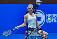 Alphen aan den Rijn, Netherlands, December 15, 2018, Tennispark Nieuwe Sloot, Ned. Loterij NK Tennis, Womans wheelchair final : Winner Dide de Groot (NED)<br /> Photo: Tennisimages/Henk Koster