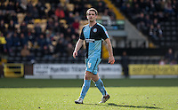 Stephen McGinn of Wycombe Wanderers during the Sky Bet League 2 match between Notts County and Wycombe Wanderers at Meadow Lane, Nottingham, England on 28 March 2016. Photo by Andy Rowland.